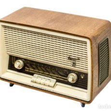 Radios de válvulas: RADIO ANTIGUA DE VÁLVULAS MARCA BLAUPUNT, VERONA,EN EXCELENTE ESTADO. Lote 151488078