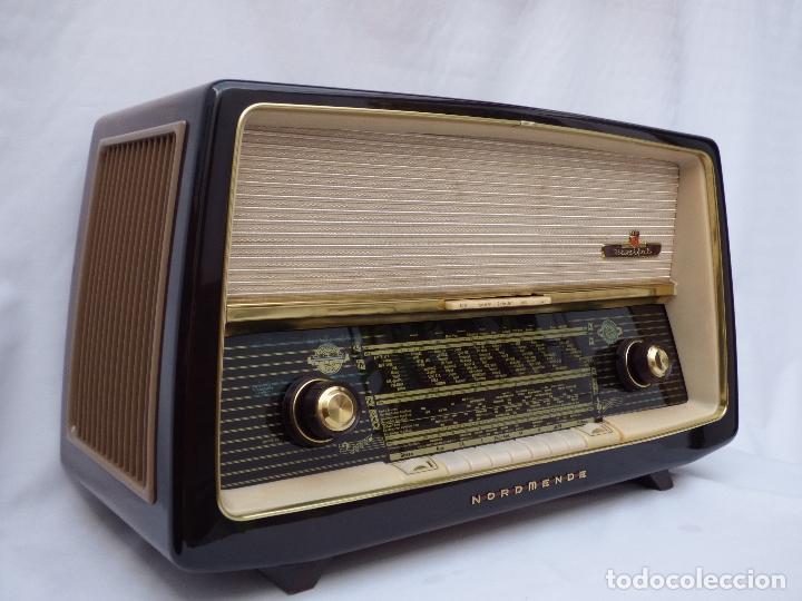 ANTIGUA RADIO DE VÁLVULAS NORMENDE PARSIFAL, MAGNIFICO ESTADO, FUNCIONA GRAN SONIDO (VER VÍDEO) (Radios, Gramófonos, Grabadoras y Otros - Radios de Válvulas)