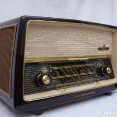 Radios de válvulas: ANTIGUA RADIO DE VÁLVULAS NORMENDE PARSIFAL, MAGNIFICO ESTADO, FUNCIONA GRAN SONIDO (VER VÍDEO). Lote 151582578