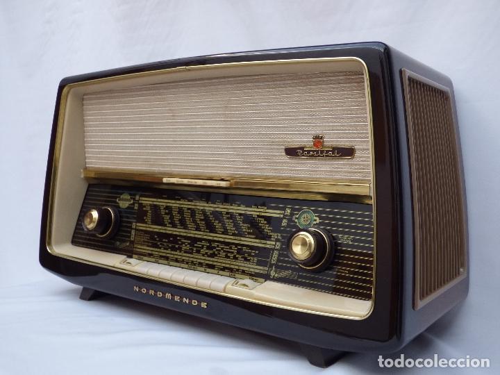 Radios de válvulas: Antigua radio de válvulas Normende Parsifal, Magnifico estado, funciona gran sonido (ver vídeo) - Foto 2 - 151582578
