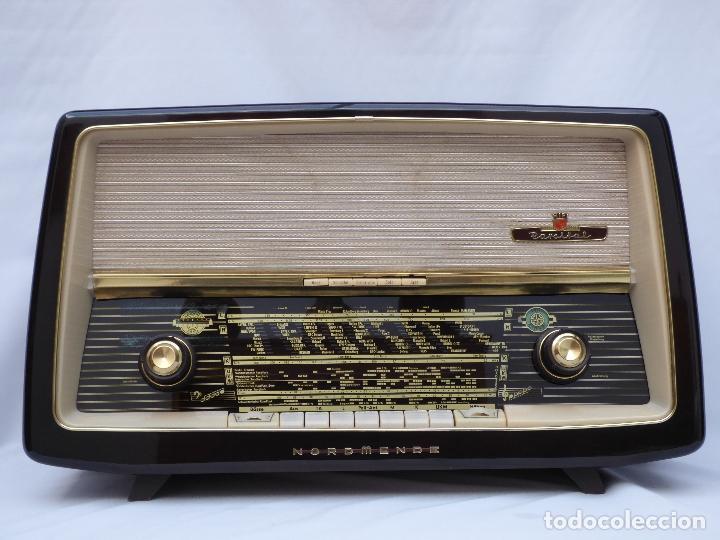 Radios de válvulas: Antigua radio de válvulas Normende Parsifal, Magnifico estado, funciona gran sonido (ver vídeo) - Foto 3 - 151582578
