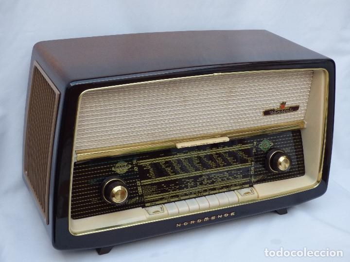 Radios de válvulas: Antigua radio de válvulas Normende Parsifal, Magnifico estado, funciona gran sonido (ver vídeo) - Foto 4 - 151582578