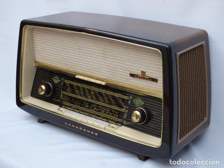 Radios de válvulas: Antigua radio de válvulas Normende Parsifal, Magnifico estado, funciona gran sonido (ver vídeo) - Foto 5 - 151582578