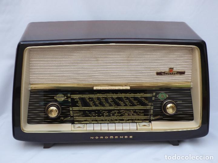 Radios de válvulas: Antigua radio de válvulas Normende Parsifal, Magnifico estado, funciona gran sonido (ver vídeo) - Foto 6 - 151582578