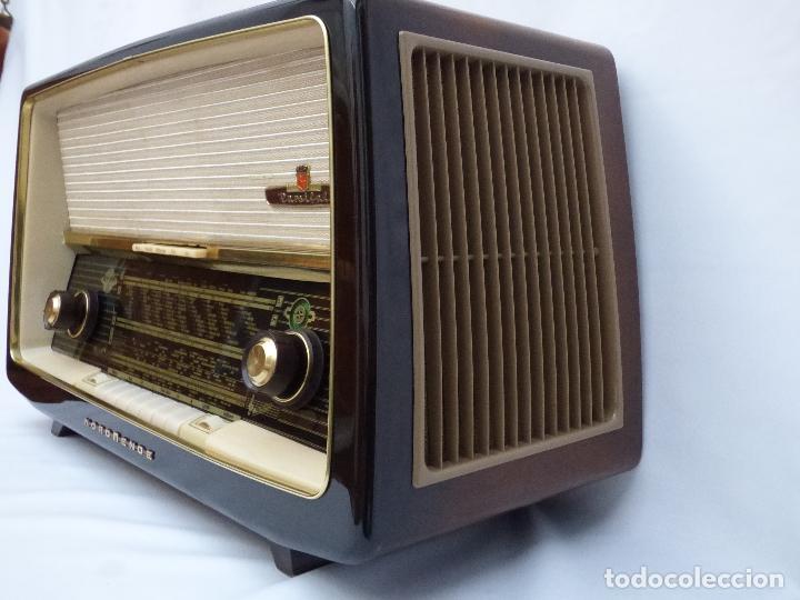 Radios de válvulas: Antigua radio de válvulas Normende Parsifal, Magnifico estado, funciona gran sonido (ver vídeo) - Foto 9 - 151582578