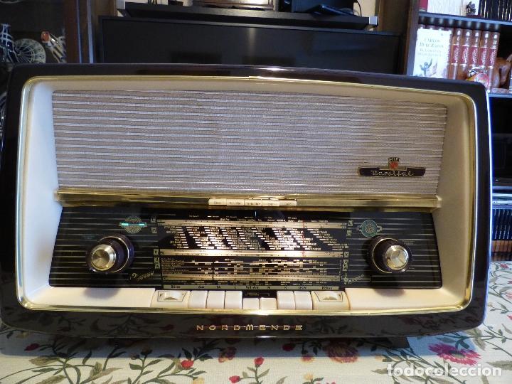 Radios de válvulas: Antigua radio de válvulas Normende Parsifal, Magnifico estado, funciona gran sonido (ver vídeo) - Foto 10 - 151582578