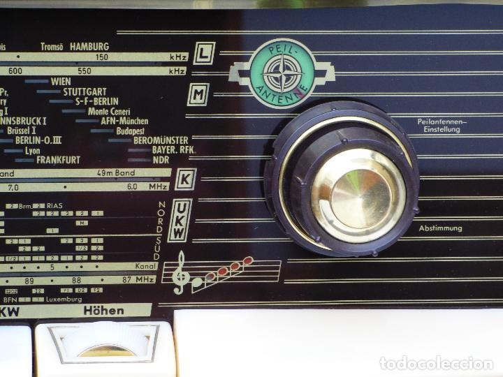 Radios de válvulas: Antigua radio de válvulas Normende Parsifal, Magnifico estado, funciona gran sonido (ver vídeo) - Foto 13 - 151582578