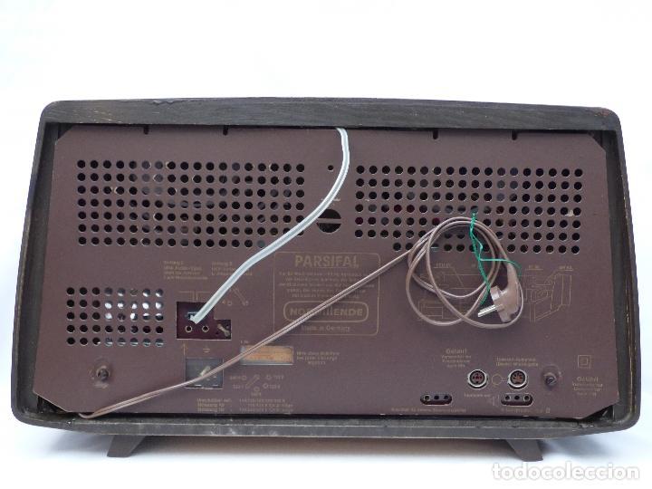 Radios de válvulas: Antigua radio de válvulas Normende Parsifal, Magnifico estado, funciona gran sonido (ver vídeo) - Foto 15 - 151582578