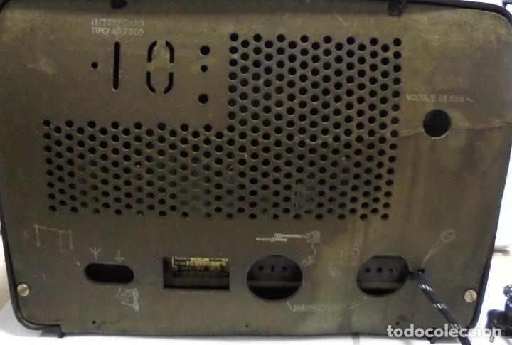 Radios de válvulas: ANTIGUA RADIO. MARCA PHILIPS. TIPO BE-341-A. 40 W. FUNCIONA. VER FOTOS - Foto 10 - 151705198