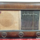 Radios de válvulas: RADIO A VALVULAS. SINTONIZADOR PHILIPS MODELO 49-A. ESPAÑA. CIRCA 1940. . Lote 151705878