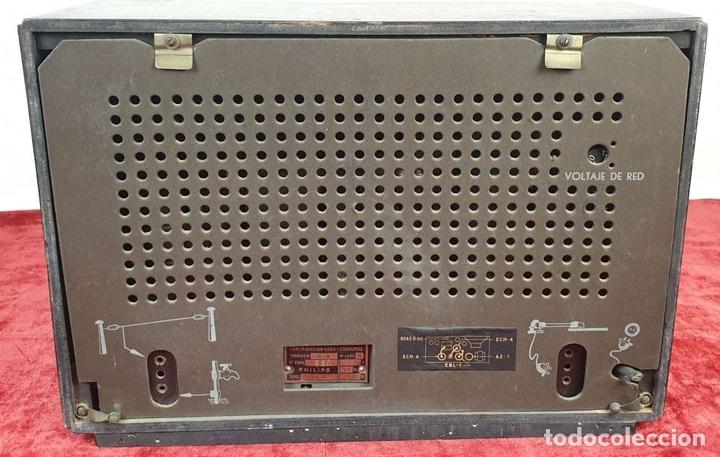 Radios de válvulas: RADIO A VALVULAS. SINTONIZADOR PHILIPS MODELO 49-A. ESPAÑA. CIRCA 1940. - Foto 6 - 151705878
