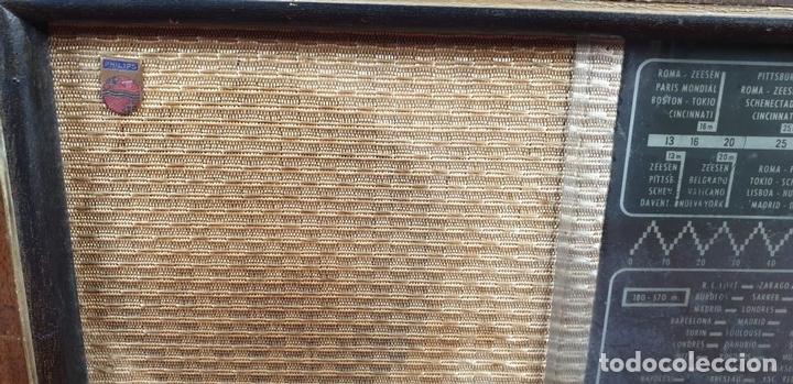 Radios de válvulas: RADIO A VALVULAS. SINTONIZADOR PHILIPS MODELO 49-A. ESPAÑA. CIRCA 1940. - Foto 7 - 151705878