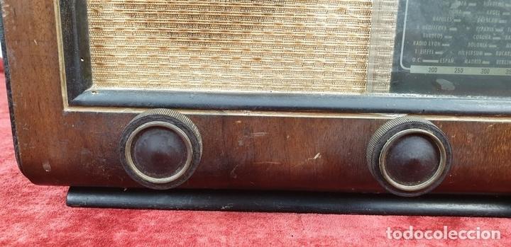 Radios de válvulas: RADIO A VALVULAS. SINTONIZADOR PHILIPS MODELO 49-A. ESPAÑA. CIRCA 1940. - Foto 8 - 151705878