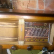 Radios de válvulas: RADIO ,REELA, FUNCIONA. Lote 152275276