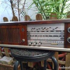 Radios de válvulas: RADIO A VALVULAS FUNCIONANDO. Lote 152721470