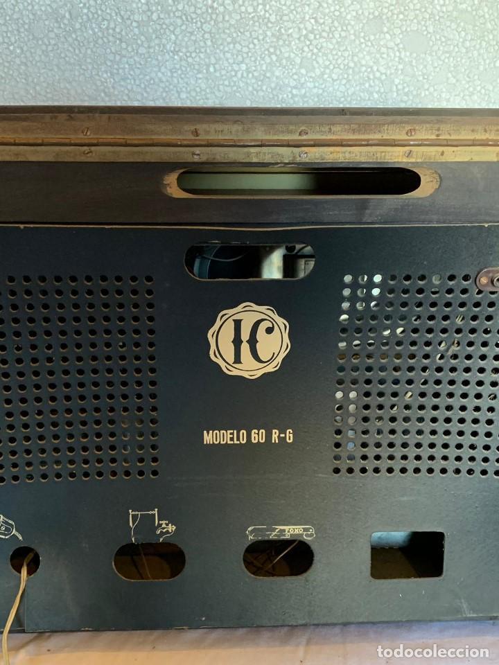 Radios de válvulas: RADIO IC MOD 60 R-G - Foto 2 - 153157274
