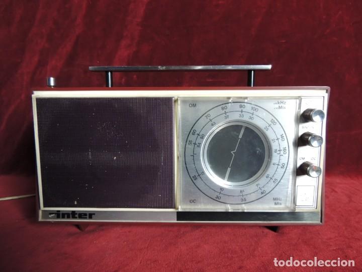 Radios de válvulas: RADIO INTER - Foto 2 - 154614074