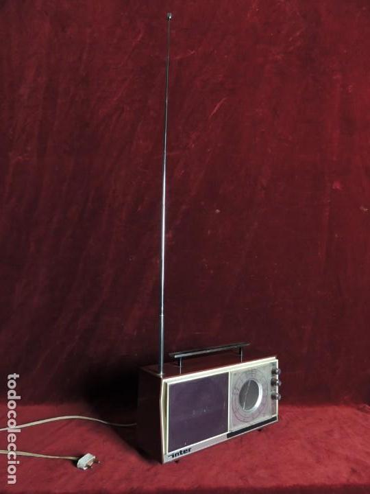 RADIO INTER (Radios, Gramófonos, Grabadoras y Otros - Radios de Válvulas)