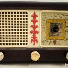 Radios de válvulas: RADIO DE VÁLVULAS ANTIGUA MARCA ONDINA 5 LÁMPARAS 25,50 X 16 X 13 CM APROX.. Lote 154686870