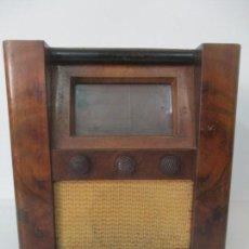 Radios de válvulas: ANTIGUA RADIO - MARCA RADIO BAYONA, BARCELONA - VINTAGE AÑOS 50. Lote 154756362
