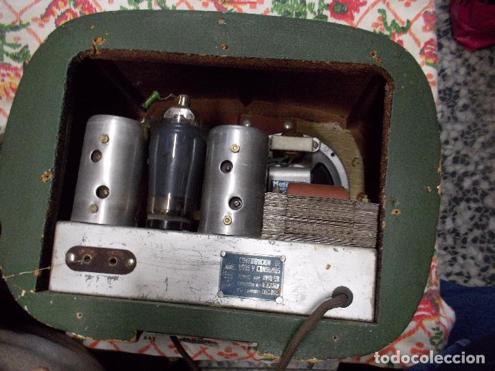 Radios de válvulas: Radio española - Foto 8 - 154830194