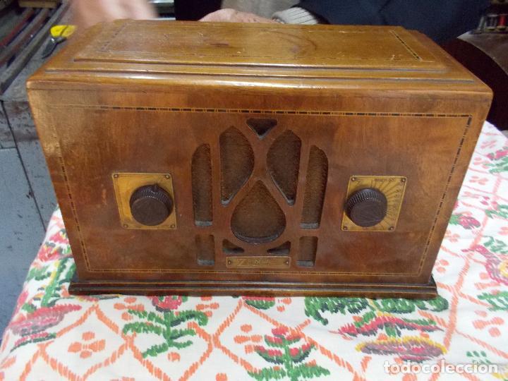 Radios de válvulas: Radio Zenith - Foto 2 - 154834270