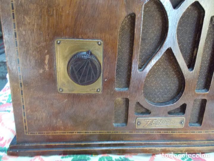 Radios de válvulas: Radio Zenith - Foto 6 - 154834270