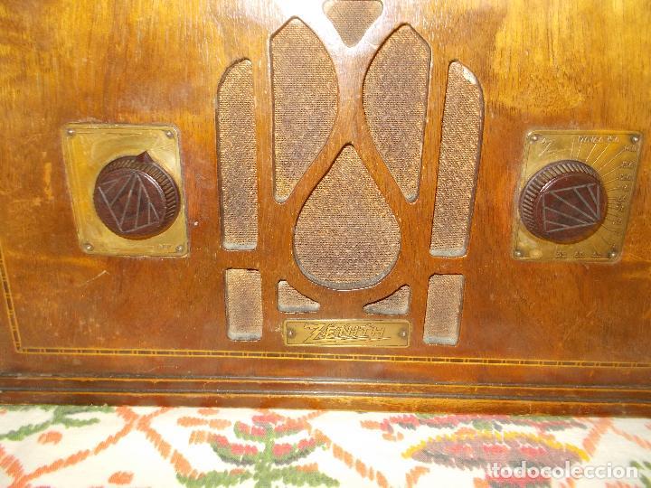 Radios de válvulas: Radio Zenith - Foto 11 - 154834270