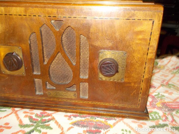 Radios de válvulas: Radio Zenith - Foto 12 - 154834270