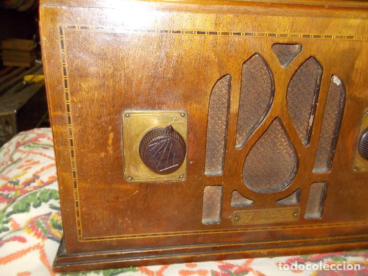 Radios de válvulas: Radio Zenith - Foto 16 - 154834270