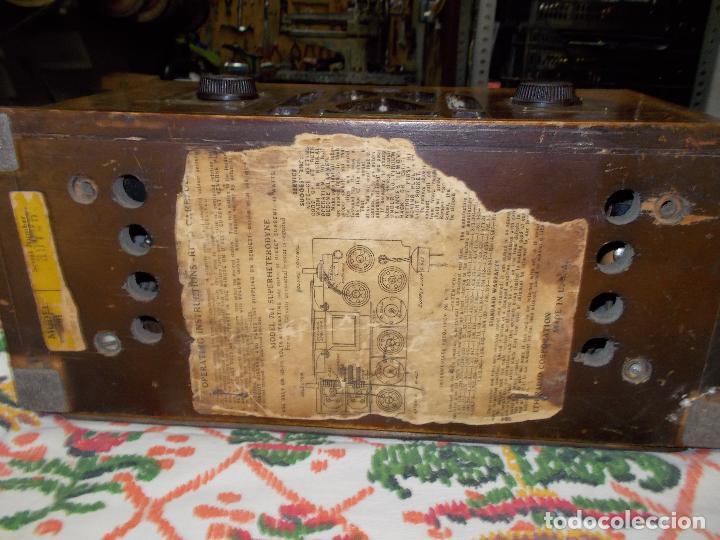 Radios de válvulas: Radio Zenith - Foto 26 - 154834270