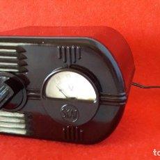Radios à lampes: TRANSFORMADOR DE BAQUELITA ART DECO , SKAY AÑOS 20. Lote 154857702