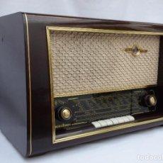 Radios de válvulas: ANTIGUA RADIO DE VÁLVULAS MARCA NORDMENDE, CARMEN, PRECIOSA Y FUNCIONANDO, (VER VÍDEO). Lote 155137214