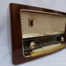 Radios de válvulas: ANTIGUA RADIO DE VÁLVULAS MARCA KAPSCH, SONOCORD, FUNCIONANDO, GRAN SONIDO (VER VÍDEO). Lote 155140366