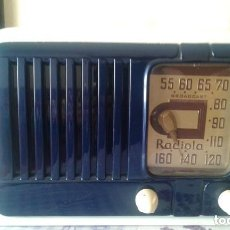 Radios de válvulas: PRECIOSA RADIO AMERICANA RADIOLA R.C.A. 511 RC 464 A EN ESTADO DE LUJO FUNCIONA COMO NUEVA. Lote 155438098