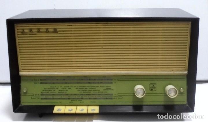 RADIO. ASKAR. MODELO AE - 1331. FUNCIONA. BUEN ESTADO. VER FOTOS (Radios, Gramófonos, Grabadoras y Otros - Radios de Válvulas)