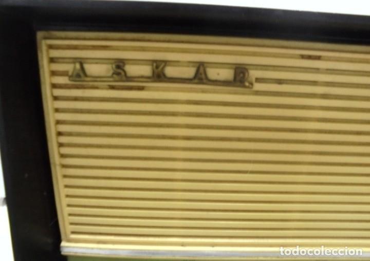 Radios de válvulas: RADIO. ASKAR. MODELO AE - 1331. FUNCIONA. BUEN ESTADO. VER FOTOS - Foto 4 - 76439399