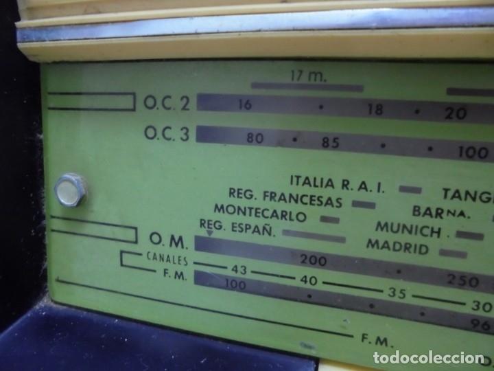 Radios de válvulas: RADIO. ASKAR. MODELO AE - 1331. FUNCIONA. BUEN ESTADO. VER FOTOS - Foto 5 - 76439399