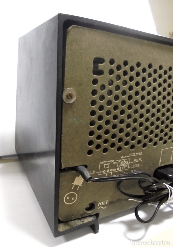 Radios de válvulas: RADIO. ASKAR. MODELO AE - 1331. FUNCIONA. BUEN ESTADO. VER FOTOS - Foto 15 - 76439399