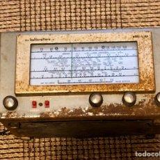 Radios de válvulas: RADIO THE HALLICRAFTERS CO MODEL S. 38 D DEL AÑO 1954. Lote 155917524
