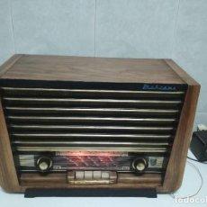 Radios de válvulas - ANTIGUA RADIO MARCONI ESPAÑOLA -1960- FUNCIONANDO (VER VÍDEO) - 156369590