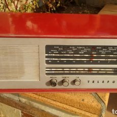 Radios de válvulas: TELEFUNKEN CAMPANELA F.M. FUNCIONA!. Lote 157268922