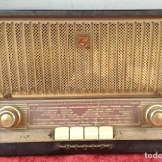 Radios de válvulas: RADIO A VÁLVULAS PHILIPS. MODELO B391U. CAJA DE BAQUELITA. ESPAÑA. 1959.. Lote 157327682