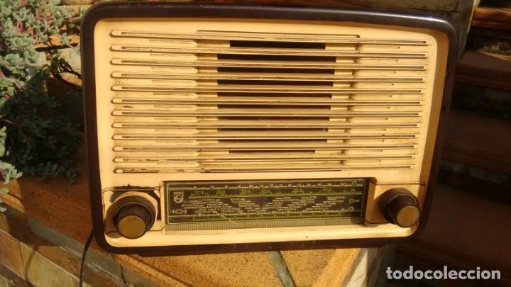 RECEPTOR PHILIPS BE 452A (Radios, Gramófonos, Grabadoras y Otros - Radios de Válvulas)