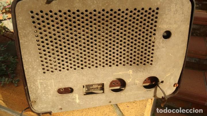 Radios de válvulas: Receptor PHILIPS BE 452A - Foto 2 - 157370058