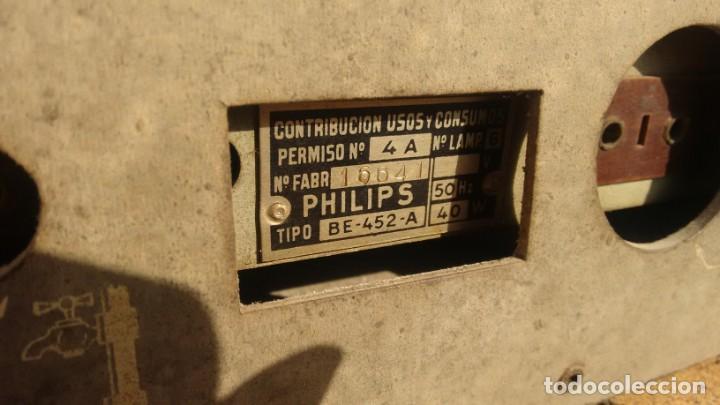 Radios de válvulas: Receptor PHILIPS BE 452A - Foto 3 - 157370058