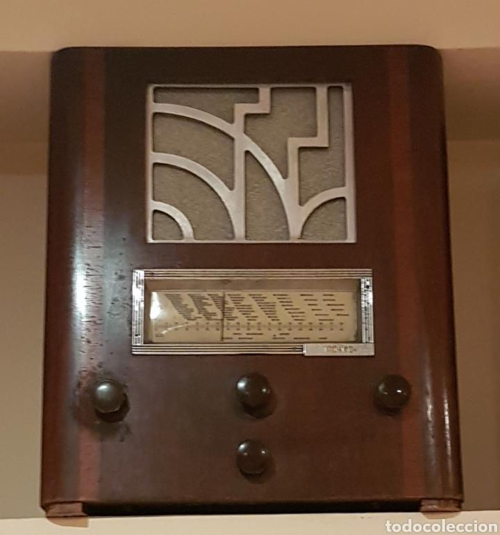RADIO MARCA FRANCESA. POLER. AÑOS 1935~ (Radios, Gramófonos, Grabadoras y Otros - Radios de Válvulas)
