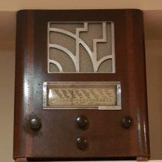 Radios de válvulas: RADIO MARCA FRANCESA. POLER. AÑOS 1935~. Lote 158401644