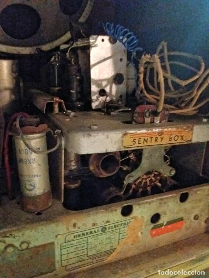 Radios de válvulas: ESPECTACULAR RADIO GENERAL ELECTRIC AÑOS 40 FUNCIONANDO - Foto 12 - 54407641