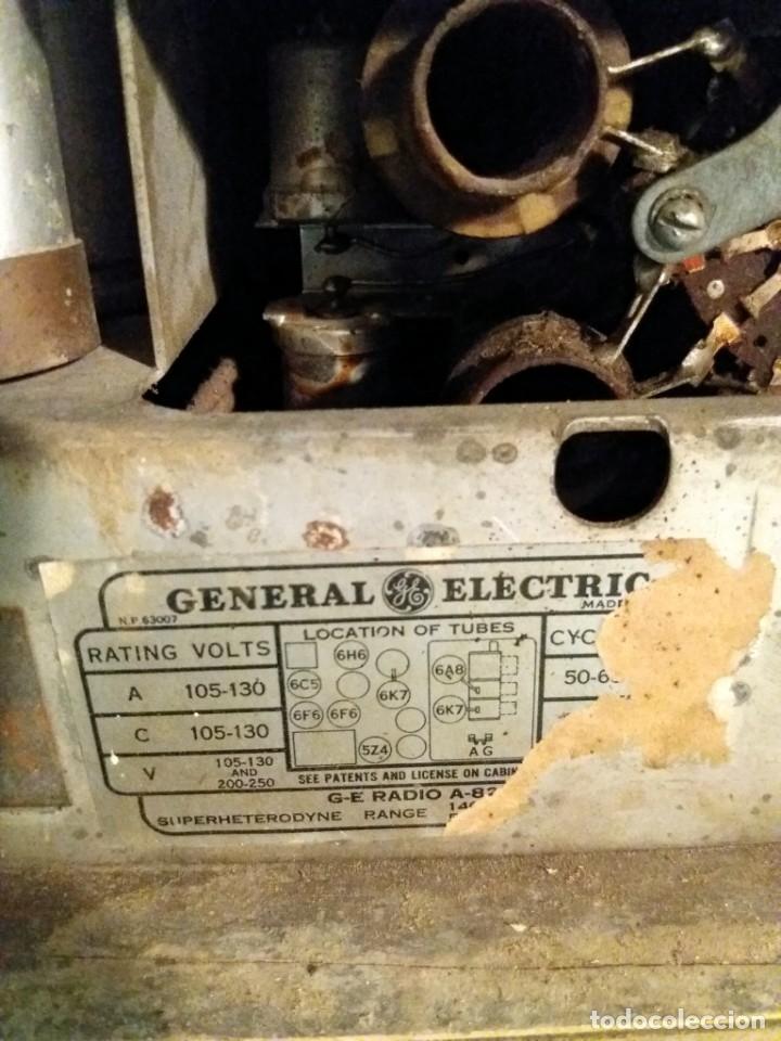 Radios de válvulas: ESPECTACULAR RADIO GENERAL ELECTRIC AÑOS 40 FUNCIONANDO - Foto 13 - 54407641